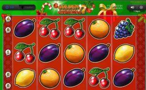 Golden 7 Christmas Online Casino Automat