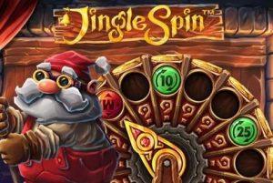 Jingle Spin Spielautomat weihnachten