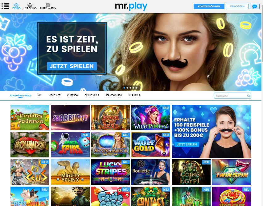 Mr Play casino test