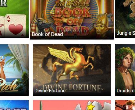 Trada Casino Divine Fortune