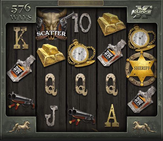 Deadwood xNudge Slot Walzen