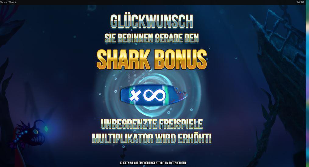 Razor Shark Freispiele