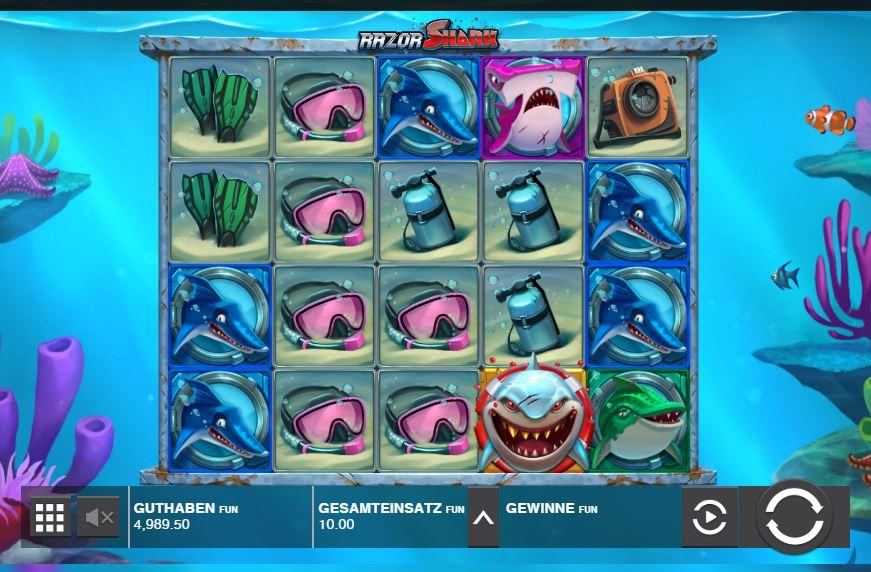 Razor Shark Slot Symbole