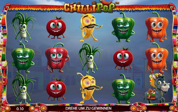 Betsoft Chilli Pop Spiel