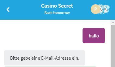 Casino Secret Kundendienst