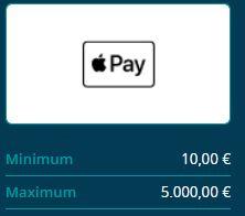 Apple Pay Casino einzahlen