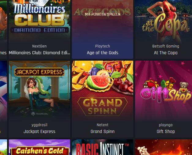 Casino Universum Jackpots