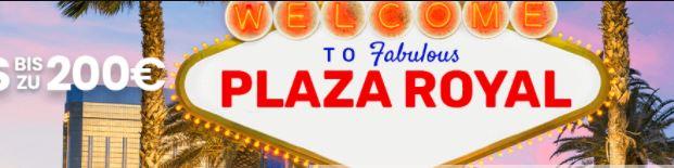 Plaza Royal Webseite