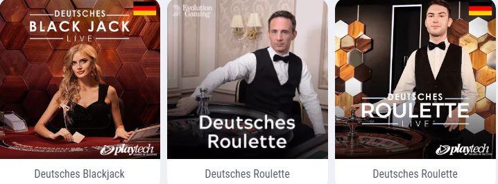 Deutsche Live-Spiele Casino