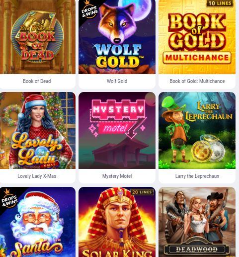 Cookie Casino Spielautomaten