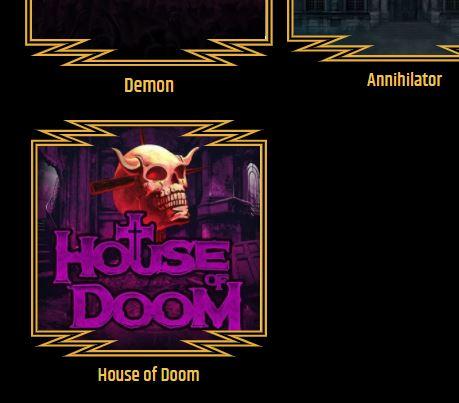 Metal Spiel House of Doom
