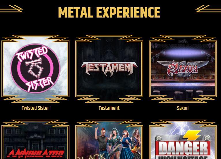 Metal Spiel Lobby