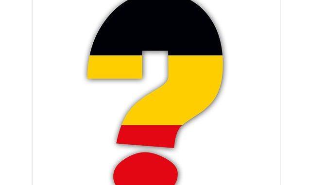 Deutschland Fragezeichen
