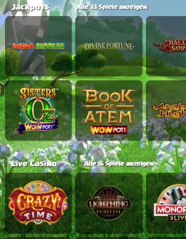 Duelz Casino Spiele
