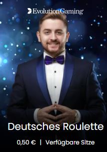 Deutsches Live Roulette