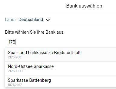 trustly Bankauswahl