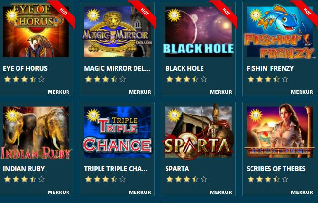 Merkur Casino Spiele Platin