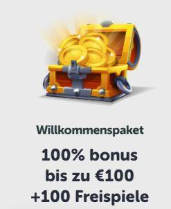 Pocket Play Willkommensbonus