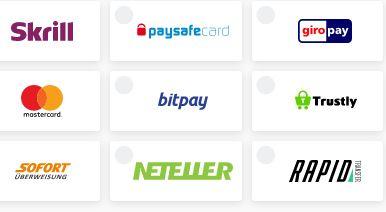 Unikrn Zahlungsmethoden