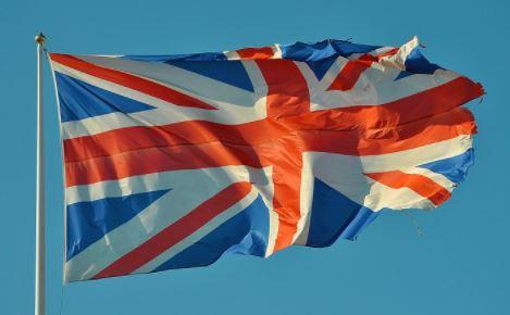 Britische Fahne