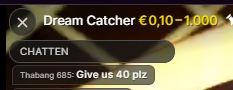 Dreamcatcher Moderatorin Chat