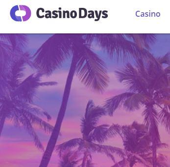 Casino Days Webseite
